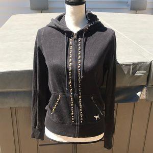 Victoria secret amazing hoodie with stonework